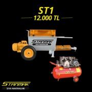 st1 helezonlu kara sıva makinası